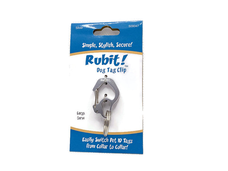 Rubit Dog Tag Clip