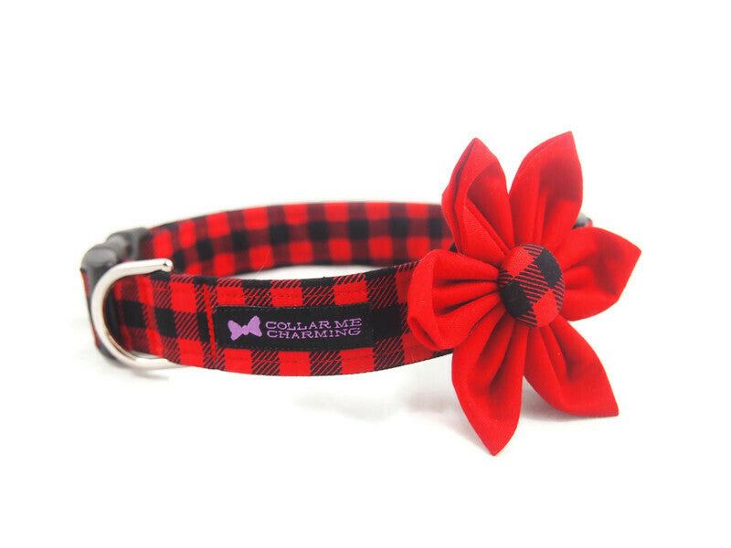 Dog Collar Flower Set Brawny