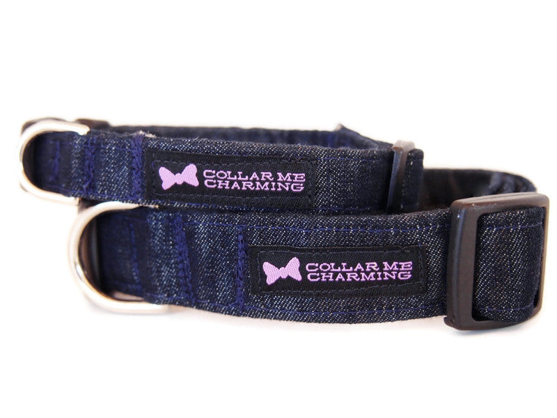 Dog Collar Dashing Denim