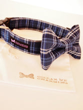 Load image into Gallery viewer, Dog Collar Bow Tie Set Bentley