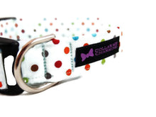 Load image into Gallery viewer, Polka Dot Dog Collar Carter