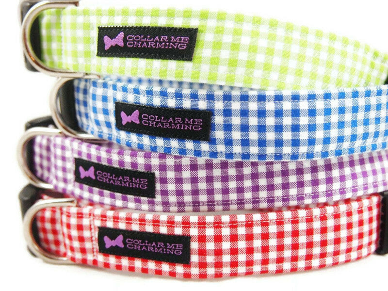 Dog Collar Gingham