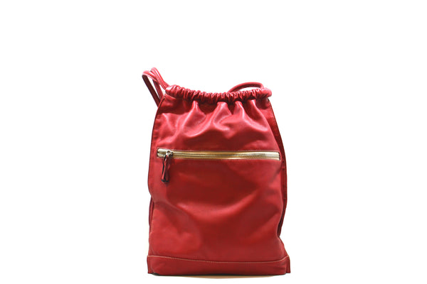 Backpacks with lace closure