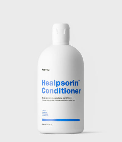 Healpsorin Conditioner relieves psoriasis, dandruff and seborrheic dermatitis symptoms |🌱 Vegan Friendly · 500 ml / 16 fl. oz.