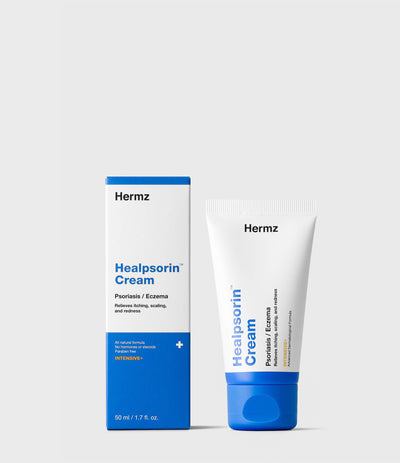 Healpsorin Cream for psoriasis and eczema |🌱 Vegan Friendly · 50 ml / 1.7 fl. oz.