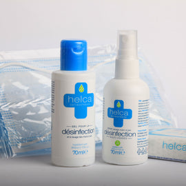 Kit complet : Masques type I - Gel hydro-alcoolique 70ml - Spray 70ml - Lingettes