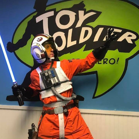 Man in Star Wars Outfit