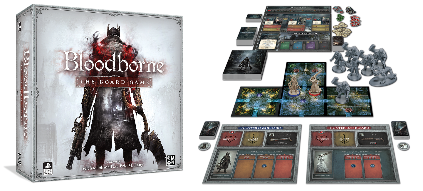 Bloodborne, the Board Game