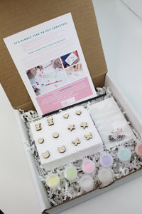 Simple Shape Paintable Earring Kit