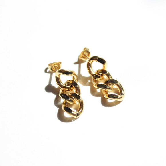 Britt Cuban Chain Earrings