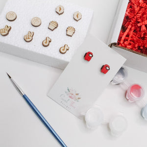 Teen Queen Paintable Earring Kit - Limited Edition Kit