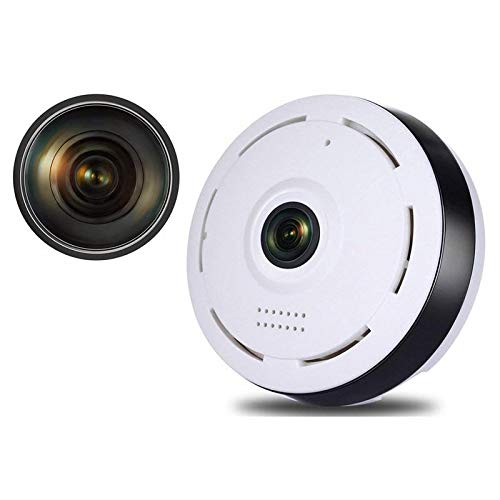 SYL White Fisheye Panoramic VR IP Camera Wi-Fi Wireless 360 Degree 3MP Network Camera