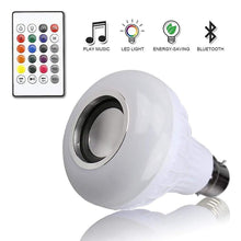 Load image into Gallery viewer, LED Music Speaker Light Bulb with Bluetooth for Home, Bedroom, Living Room, Party Decoration