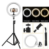 18 Inch LED Selfie Ring Light With 6 ft. Tripod Stand & Remote