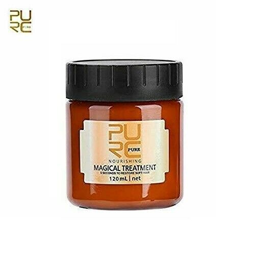 PURC Magical Treatment Mask 5 Seconds Repairs Damage Restore Soft Hair 60 120mL