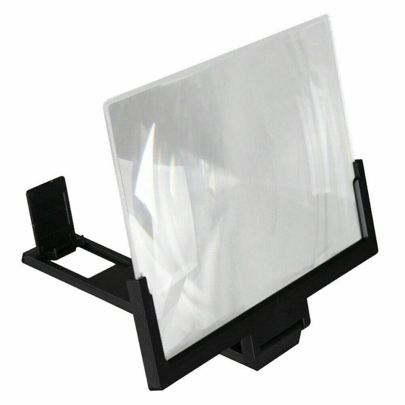 "14"" Inch Phone Screen Magnifier 3D Video Mobile Phone Amplifier Stand Bracket"