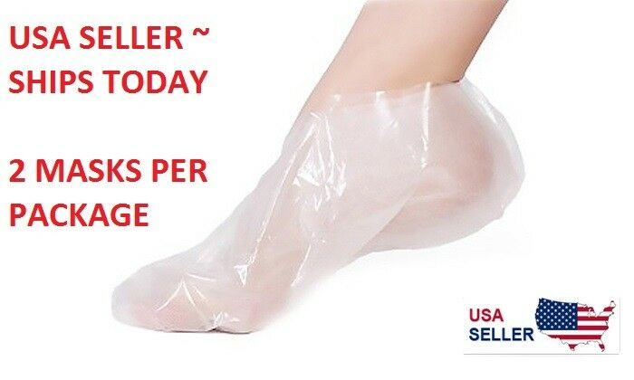 Exfoliating Foot Peeling Mask Feet Peel Mask Sheds Skin Calluses Feet USA SELLER