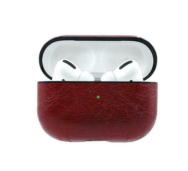 New Leather Strap Holder Cover Accessories for Apple AirPods Pro Charging Case