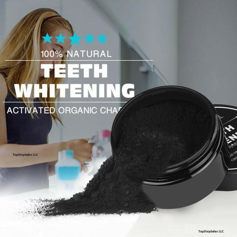 Natural Whitening Tooth Gum Powder Coconut Activate Charcoal Toothpaste