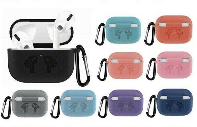 For Apple AirPods Pro Protective Silicone Skin Case Cover Earphone Accessories