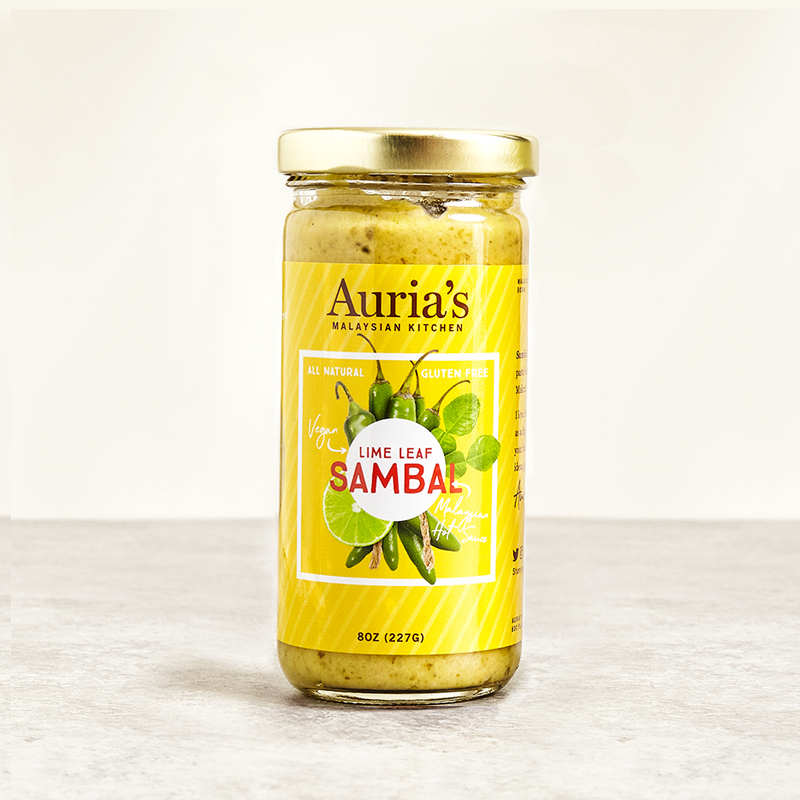 Lime Leaf Sambal 8oz/237g