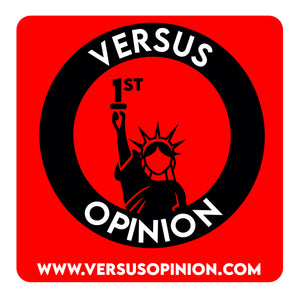 Versus Opinion Merch Logo Sticker