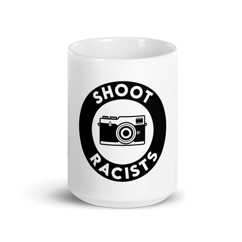 Shoot Racists Coffee Cup