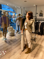 Afbeelding in Gallery-weergave laden, Pants Baggy 8P21BGI 1170 Beige