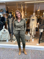 Afbeelding in Gallery-weergave laden, Blouse Shantionea Y27.375.1111 Army