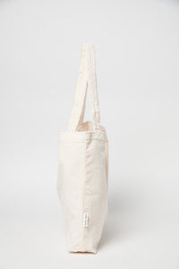 Old White Rib Mom Bag YVKE_20734 Old White