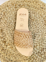 Afbeelding in Gallery-weergave laden, Slipper Rafia 40323 Beige