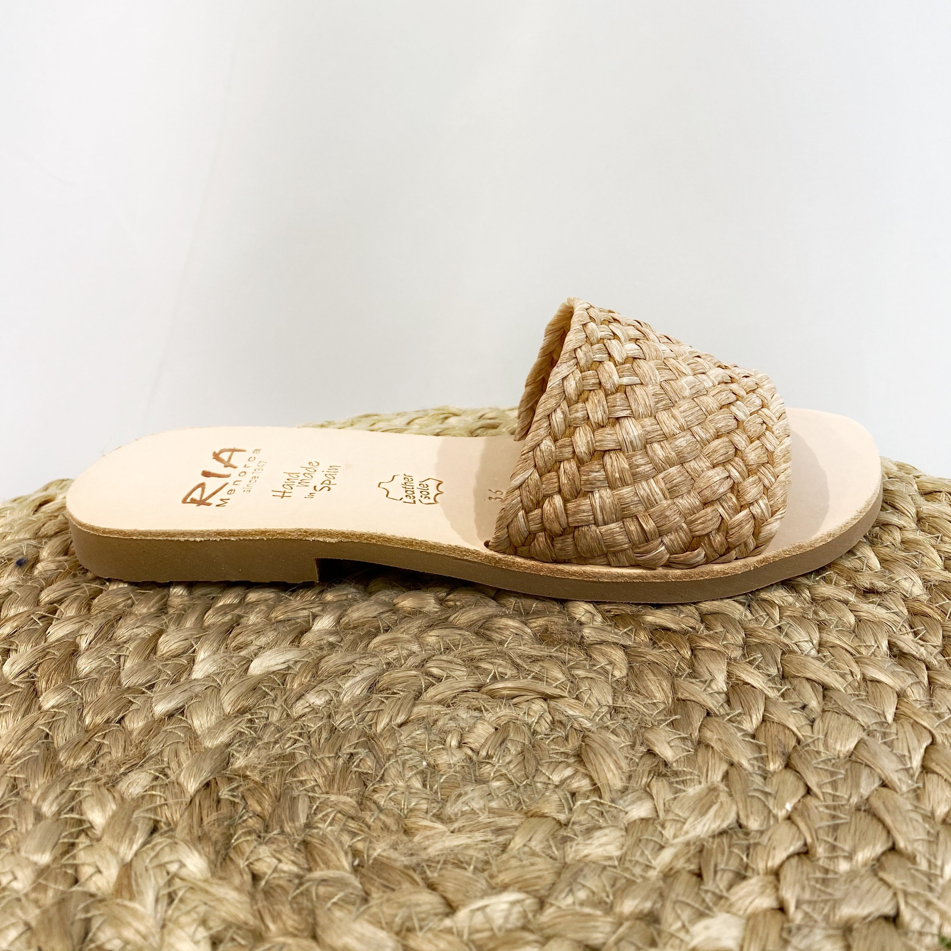 Slipper Rafia 40323 Beige