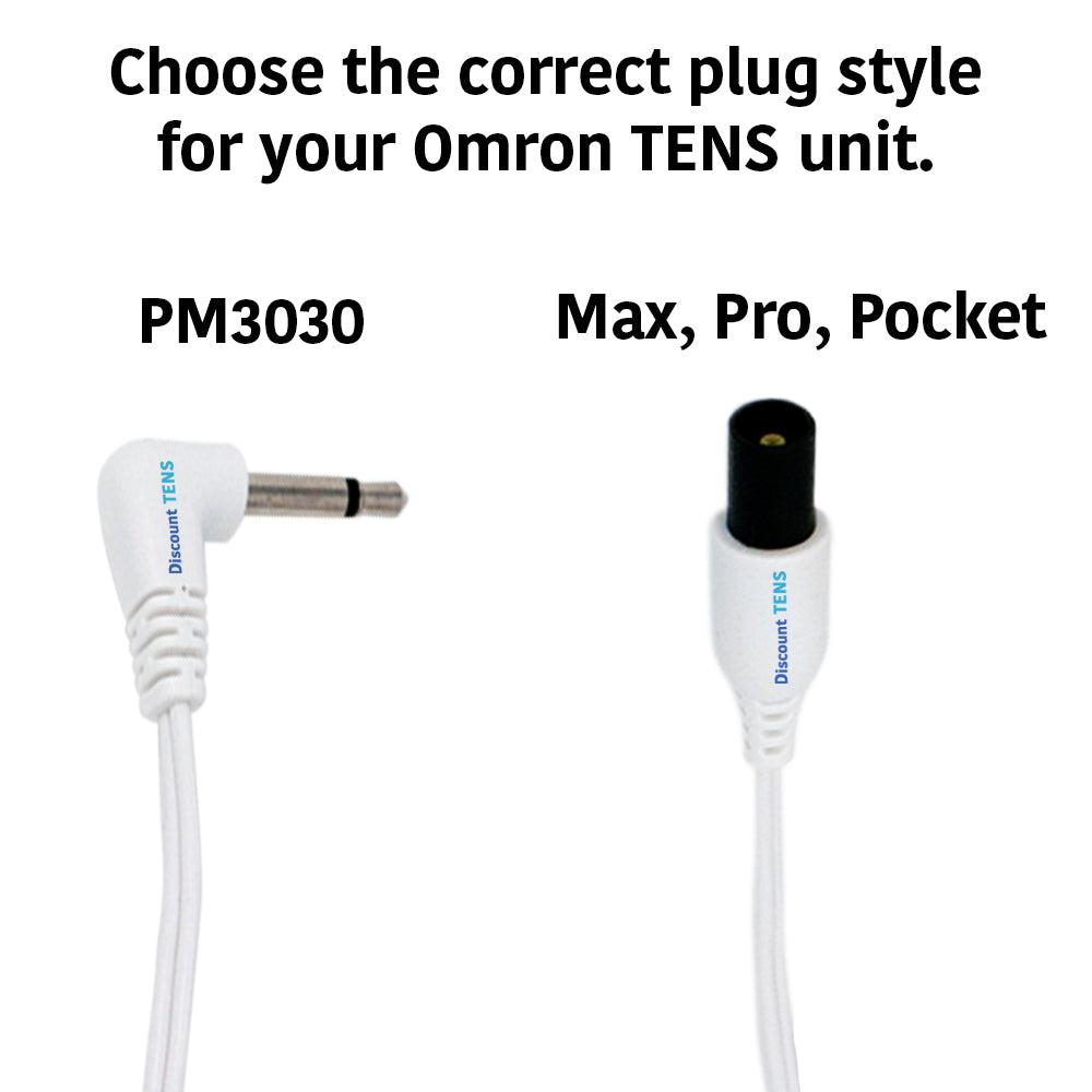 Omron Compatible Replacement Lead Wires for Omron Max, Pro or Pocket Models - 2mm Pin Connectors