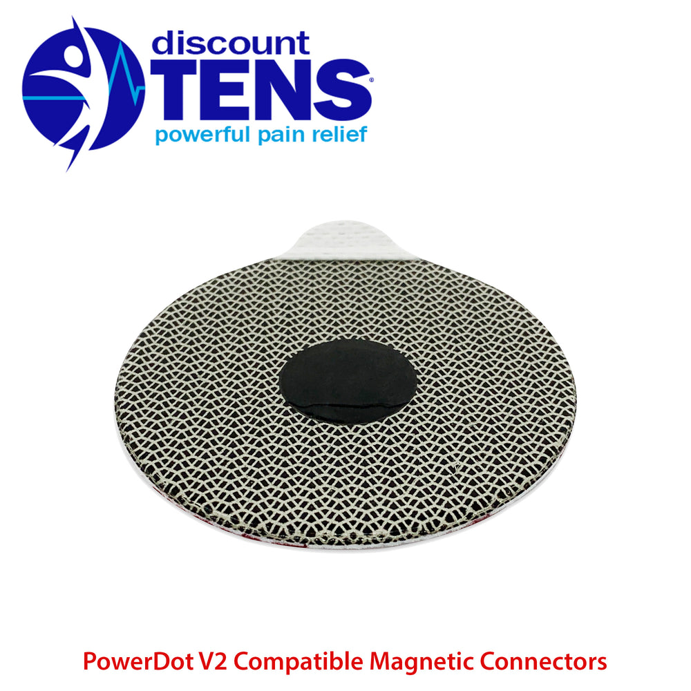 PowerDot 2.0 Compatible Electrodes 12 Pack. (Magnetic Connector)
