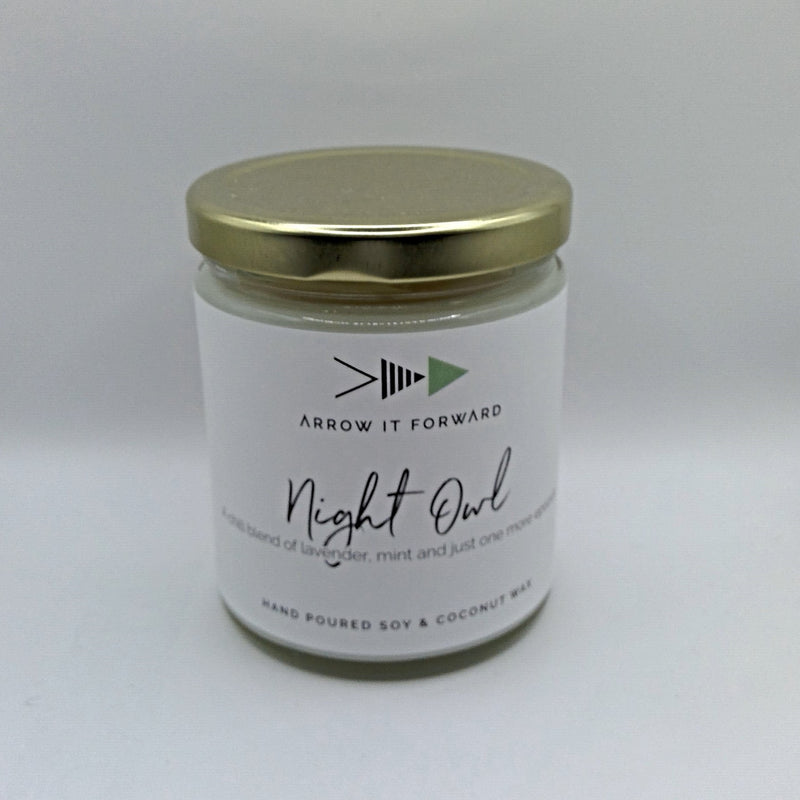 Night Owl 8 oz Soy Candle