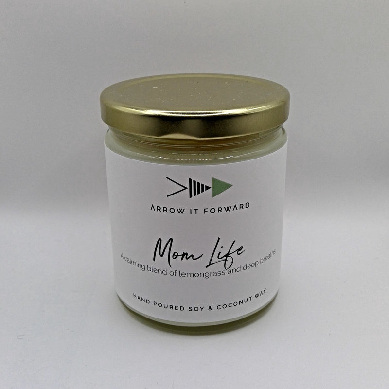 Mom Life 8 oz Soy Candle