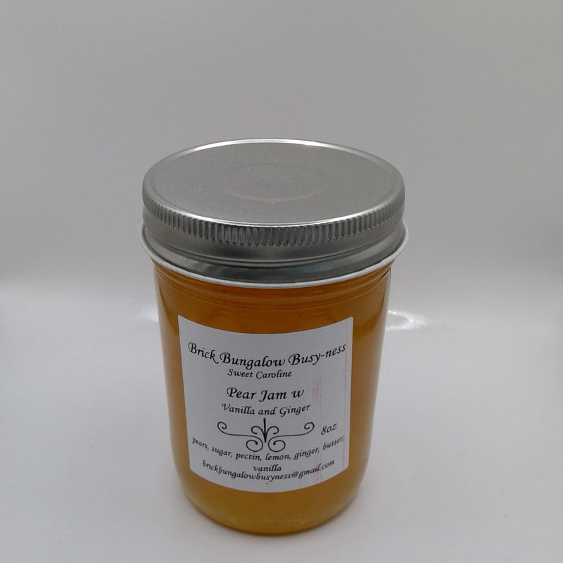Pear Jam with Vanilla and Ginger