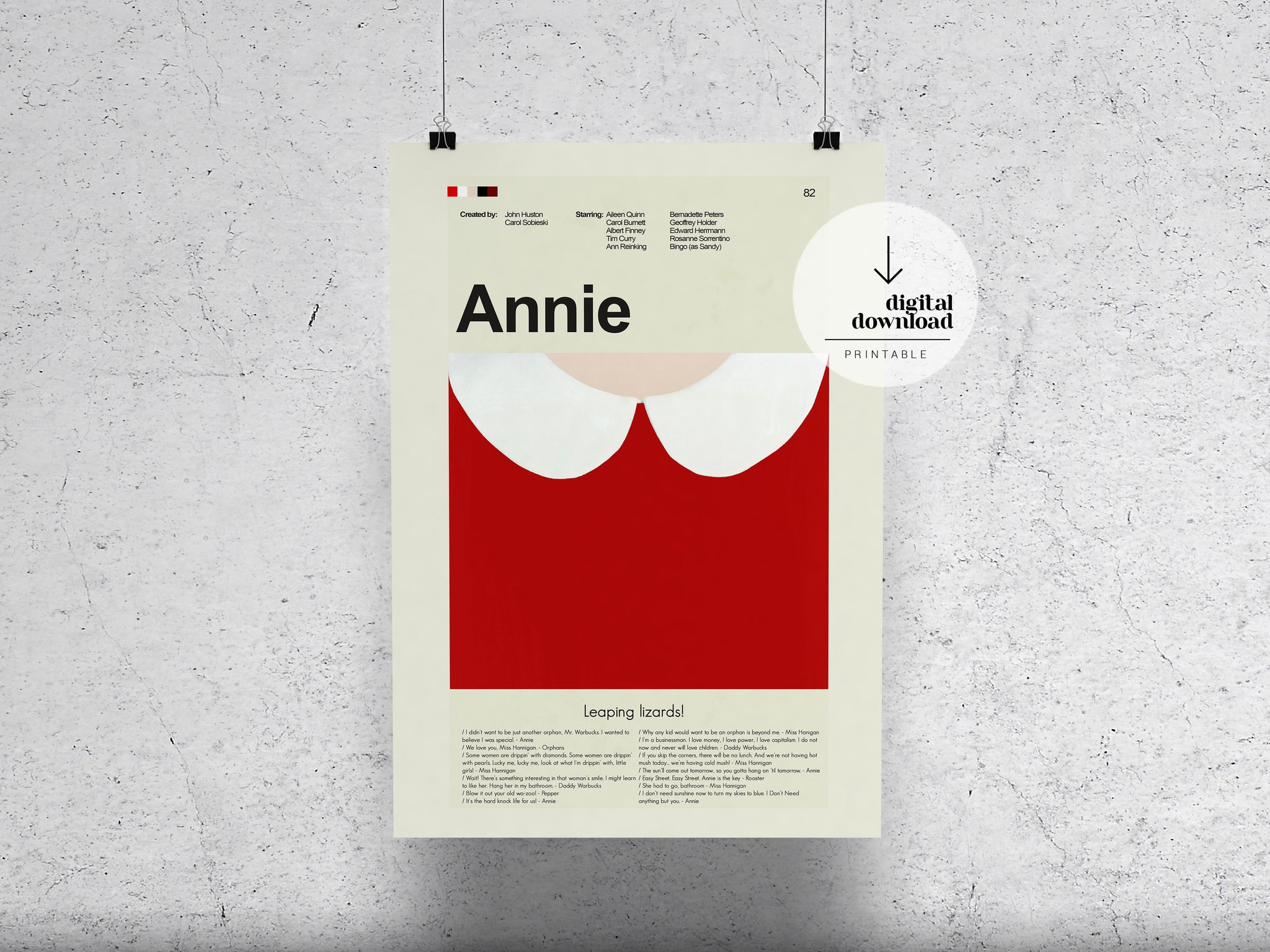 Annie | DIGITAL DOWNLOAD