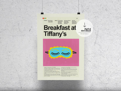 Breakfast at Tiffany's | DIGITAL DOWNLOAD