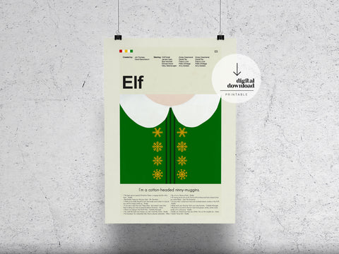 Elf | DIGITAL DOWNLOAD