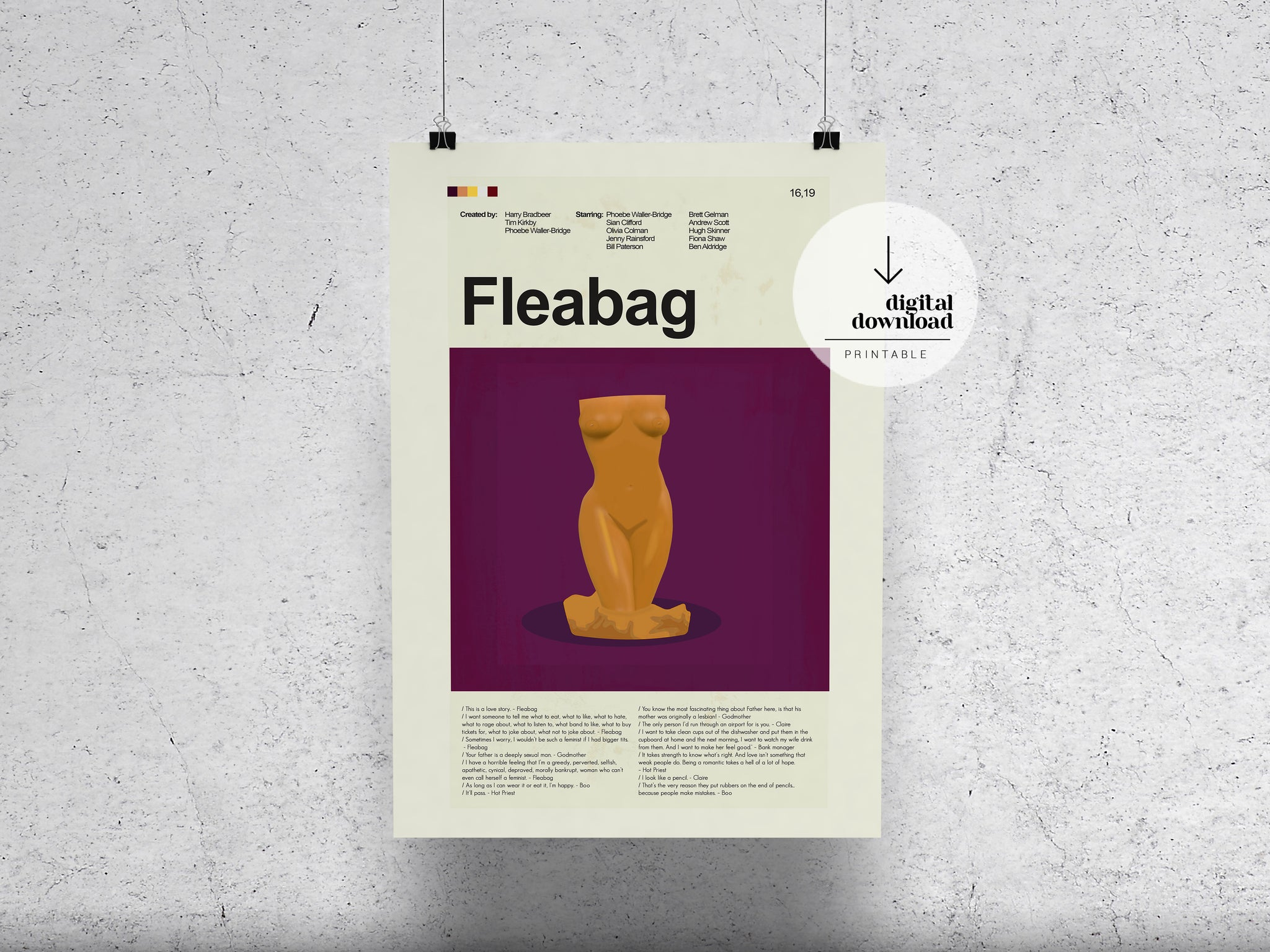 Fleabag | DIGITAL DOWNLOAD