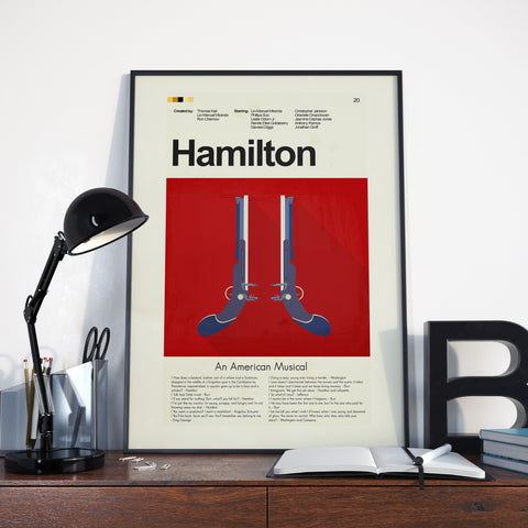 "Hamilton - The Duel | 12""x18"" Print only"