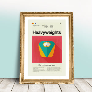 Heavyweights Inspired Mid-Century Modern Print 12x18 | Print only