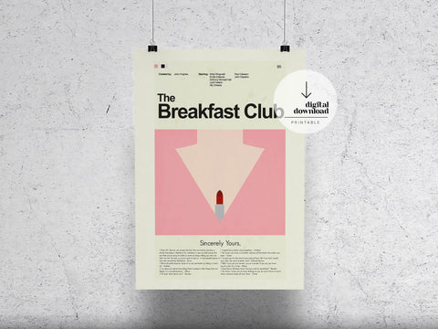The Breakfast Club | DIGITAL DOWNLOAD