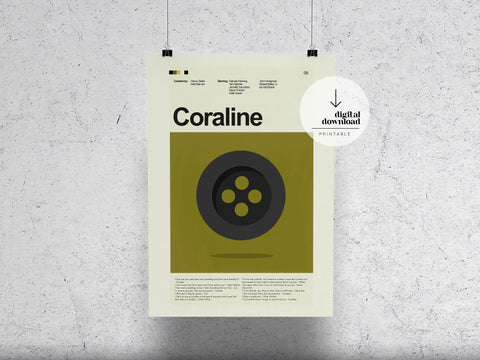 Coraline | DIGITAL DOWNLOAD