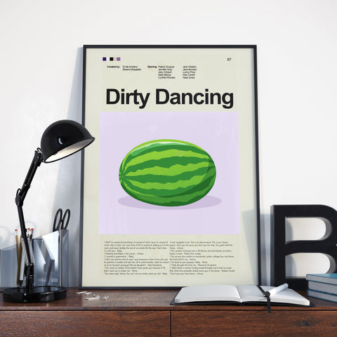 "Dirty Dancing - The Watermelon | 12""x18"" Print only"