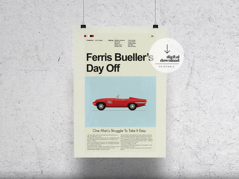 Ferris Bueller's Day Off | DIGITAL DOWNLOAD
