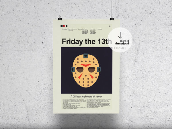 Friday the 13th | DIGITAL DOWNLOAD