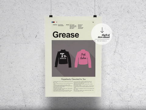 Grease | DIGITAL DOWNLOAD