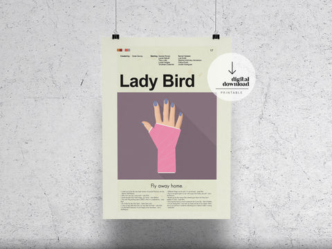 Lady Bird | DIGITAL DOWNLOAD